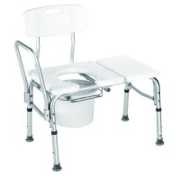 Carex bathtub transfer bench with opening - 1 ea