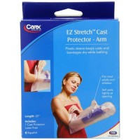 Carex health brands e-z stretch cast arm protector - 1 ea