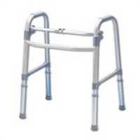 Apex-carex deluxe folding walker without wheels of adjustable height - 1 ea