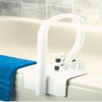 White bathtub rail round by apex-carex - 1ea