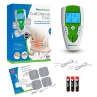 Accurelief dual channel tens electrotherapy pain relief system - 1 ea