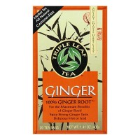Triple leaf tea spicy strong ginger tea - 20 bags, 6 pack