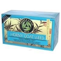 Triple leaf tea horny goat weed, yang herbal tea- 20 bags, 6 pack