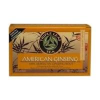 Triple leaf tea american ginseng root herbal tea - 20 bags, 6 pack