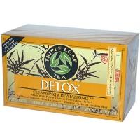 Triple leaf tea detox cleansing and revitalizing tea bags - 20 ea