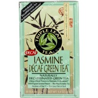 Triple leaf tea jasmine decaf green tea bags - 20 ea, 6 pack