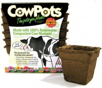 """Cowpots, Llc cowpots 12pots/pack - 4"""", 12 ea"""