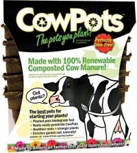 Cowpots, Llc cowpots 12pots/pack - 3 inch, 12 ea