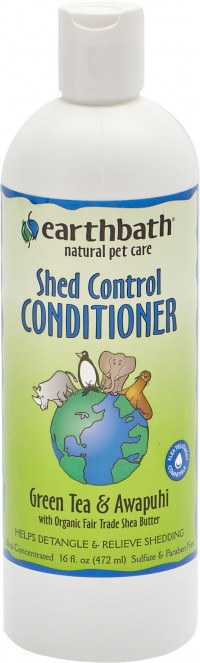 Earthwhile Endeavors, Inc earthbath shed control conditioner - 16oz, 12 ea