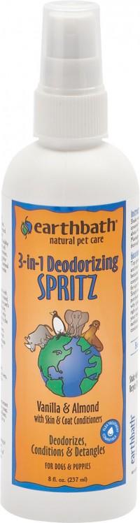 Earthwhile Endeavors, Inc earthbath 3 in 1 deodorizing spritz/conditioner - 8oz, 12 ea