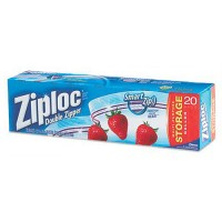 Ziploc Storage Bags 1 Gallon Size - 20 ea / Box, 12 Boxes