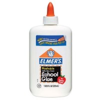 Elmers all purpose glue washable school glue  - 6 ea