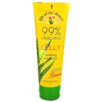 Lily Of The Desert 99% Aloe Vera Gelly Soothing Moisturizer - 4 oz
