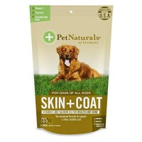 Pet naturals of vt skin plus coat supplements for dogs - 30 chews