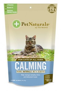 Pet naturals of VT calming supplements for cats - 30 ea