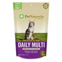 Pet naturals of vt daily multivitamin supplements for cats - 30 chews