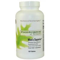 FoodScience Of Vermont mens superior tablets - 120 ea