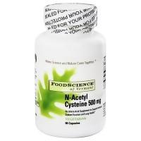 FoodScience Of Vermont N-Acetyl cysteine capsules - 90 ea