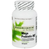 Food Science Mega Probiotic-ND(non-dairy) Vegetarian capsules - 120 ea