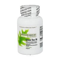 FoodScience Of Vermont green tea-70 500 mg capsules - 60 ea