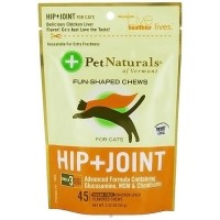 Pet Naturals of Vermont Hip plus Joint fun shaped chews for cats - 2.22 oz