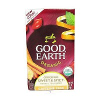 Good Earth organic original sweet and spicy herbal tea, Caffeine Free - 18 Tea Bags