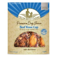Fieldcrest Farms fieldcrest farms beef knee cap - 4 pack, 12 ea