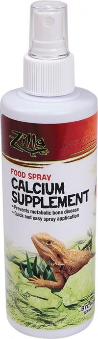 Zilla calcium supplement food spray - 8 ounce, 12 ea