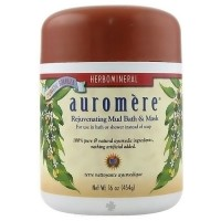 Ayurvedic herbomineral rejuvenating mudbath and mask powder by Auromere, 16 oz