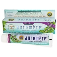 Auromere ayurvedic herbal toothpaste, Mint Free, 4.16 oz