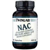 Twinlab N-Acetyl-Cysteine 600 mg Capsules - 60 ea