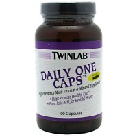 Twinlab daily one caps without iron capsules - 90 ea
