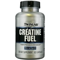 Creatine fuel mega performance enhancer capsules, By Twinlab - 60 ea