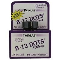 Twinlab Vitamin B-12 500 mcg Dots Tablets - 250 ea