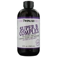 Twinlab Super B Complex Liquid, Nutritionally supports - 8 oz