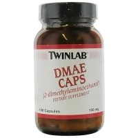 Twinlab DMAE (dimethylaminoethanol) 100 mg capsules - 100 ea