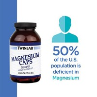 Twinlab Magnesium natural high potency 400 mg capsules - 200 ea