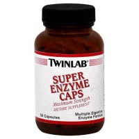 Twinlab super maximum strength enzyme caps - 50 ea