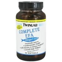 Twinlab Complete EFA softgels for cardiovascular health, Omega 3-6-9 - 90 ea