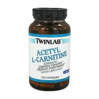 Twinlab Acetyl L-Carnitine 500 mg capsules, 120 ea