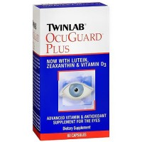 Twinlab OcuGuard Plus Advanced Vitamin and Antioxidant Capsules - 60 ea