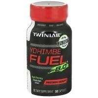 Twinlab Yohimbe Fuel 8.0 Yohimbe Bark Extract - 50 Capsules