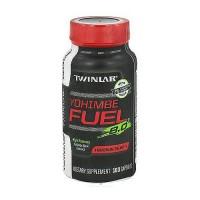 Twinlab Yohimbe Fuel energy dietary supplement capsules, yohimbe bark extract - 100 ea