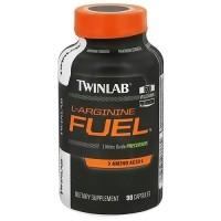 Twinlab L-Arginine Fuel 500 mg Capsules - 90 ea