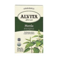 Alvita Teas Organic Caffeine Free Nettle Herbal Tea Bags - 24 Ea