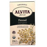 Organic alvita fennel for alleviate bloating and gas - 24 ea
