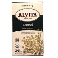Organic alvita fennel for alleviate bloating and gas - 24 ea