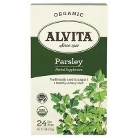 Alvita Teas Organic Caffeine Free Parsley Tea Bags - 24 Ea