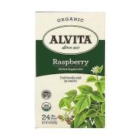 Alvita Teas Organic Caffeine Free Raspberry Tea Bags - 24 Ea