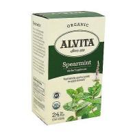 Alvita spearmint leaf caffeine free tea bags - 30 ea